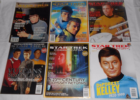 Star Trek Communicator Lote Sr. Spock 6 Revistas Importadas