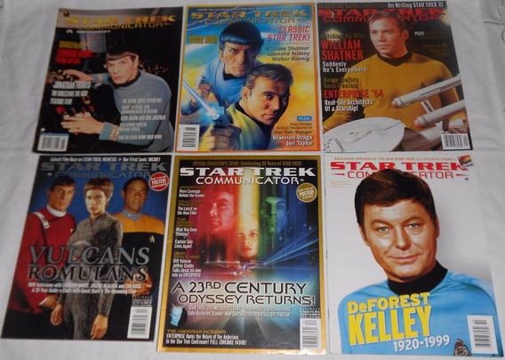 Star Trek Communicator Lote Sr. Spock 6 Revistas Importadas