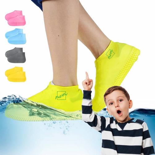 Funda Silicona Impermeable Protector Zapato Infantil Niño/ña