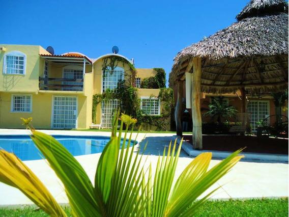 Linda Casa En Acapulco Para Hasta 10 Personas, Alberca, Sky