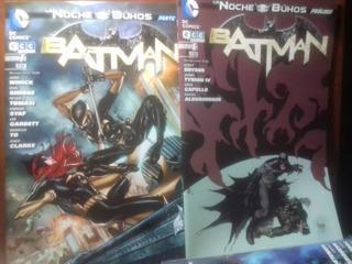 Batman: La Noche De Los Buhos. Revistas Del 6 Al 10. Ecc