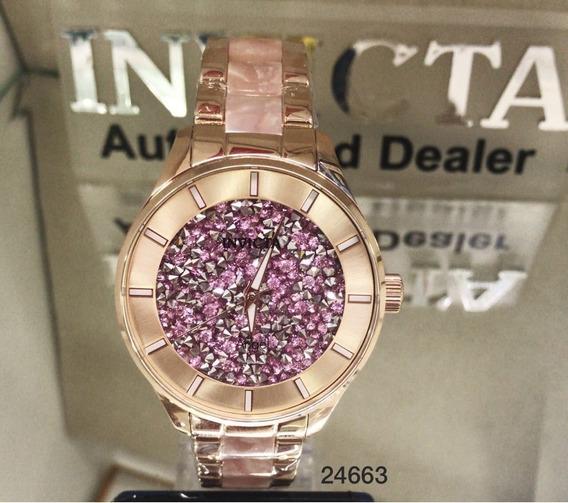 Relógio Invicta Feminino Angel 24663 Original 2 Ano Garantia