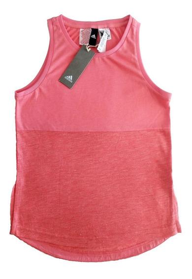 adidas Musculosa Talle Us M Color Rosa Combinada Importada
