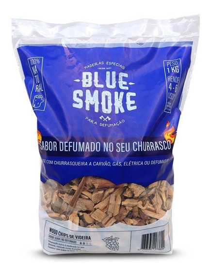 Lenha Para Defumar Videira Woods Chips 1kg
