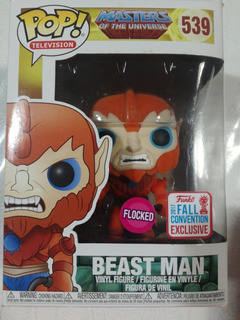 Funko Pop Beast Man Flocked