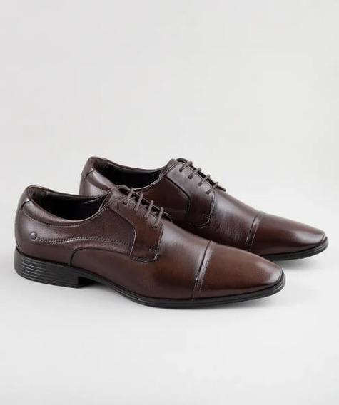 Sapato Smart Comfort Casual Vince Light Café - Democrata
