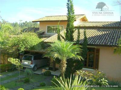 Linda Casa Com Vista Privilegiada Para Área Verde!!! - Ca0388