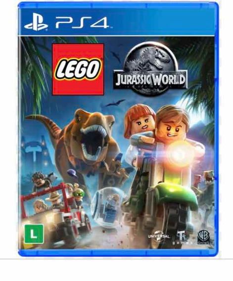 Lego Jurassic World Ps4 Mídia Física Original