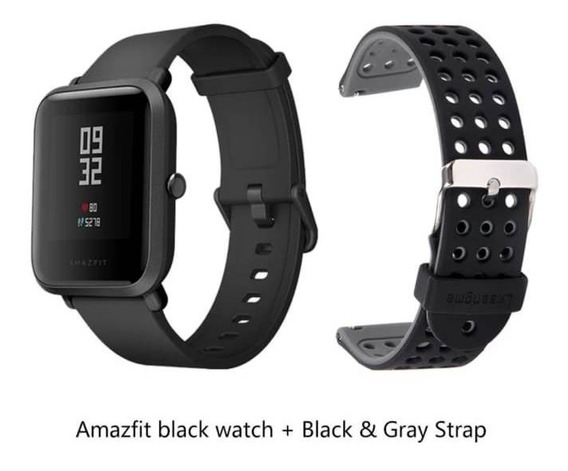 Relógio Android Bip Xiaomi Global Bluetooth Gps + Pulseira