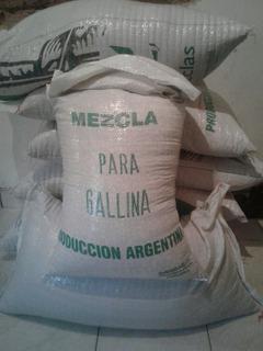 Alimento Mezcla De Semillas Para Gallinas X 24kg