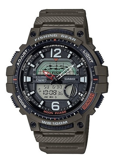 Reloj Casio Fishing Gear Wsc-1250h-3 Sports Gear
