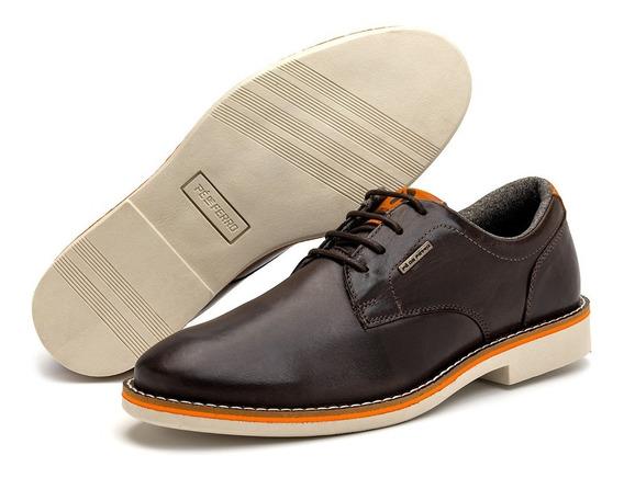 Sapato Social Masculino Em Couro Pé De Ferro Original