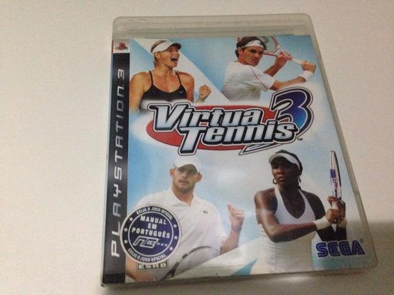 Virtua Tennis 3 - Ps3 - Ref 001