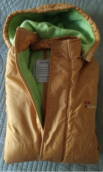 Campera Larga Impermeable Talle 10