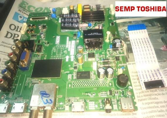 Placa Principal Tv Semp Toshiba L40d2900f Cb Flet Incluso