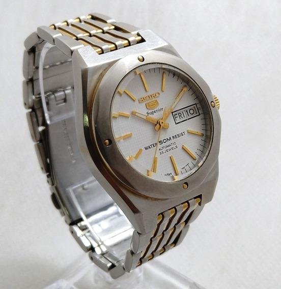 Relógio Seiko 5 Sports Superior 7s36-00e2 Raridade Perfeito.