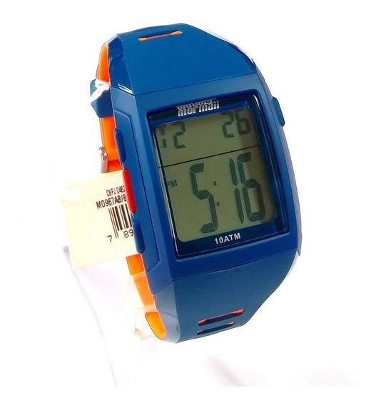 Relógio Masculino Digital Original Mormaii Mo967ab/8a.