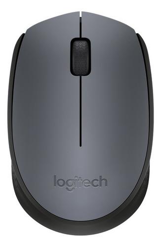 Imagem 1 de 6 de Mouse Logitech M170 Sem Fio Rc Nano