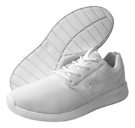 Tenis Dc Hombre Blanco Midway Mx Adys700135ww0