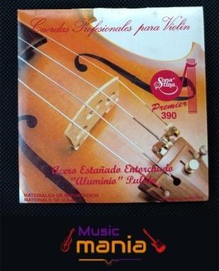 Juego De Cuerdas Profesionales De Violin Marca Sonatina