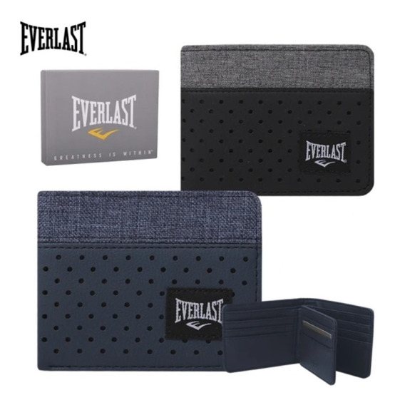 Billetera Everlast Cuero Ecológico Original 26206