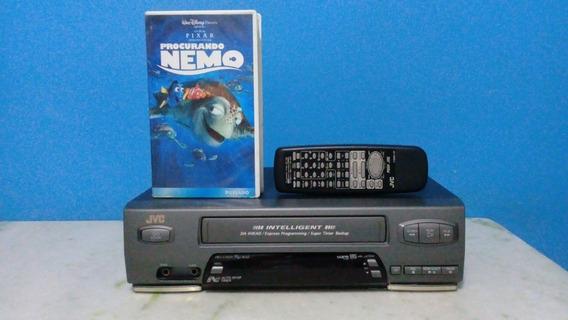 Video Cassete Jvc Hr J474m 4 Cabeças + Vhs