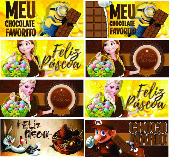 Estampas Pascoa Estampas Chocolate Estampas Canecas