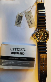 Relógio Citizen Aqualand Jp2004-07e Serie Ouro Original