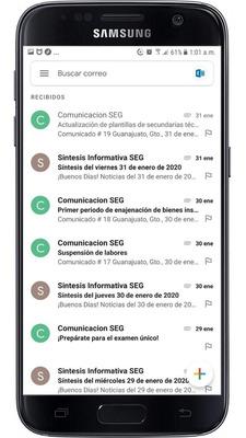 Correo Institucional Seg Guanajuato En Celular, Pc, Lap, Tab