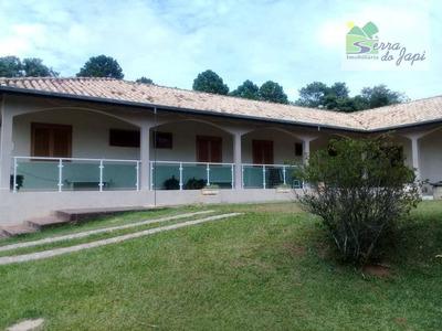 Chácara Com 4 Dormitórios À Venda, 5124 M² Por R$ 2.000.000 - Vale Dos Cebrantes - Jundiaí/sp - Ch0122