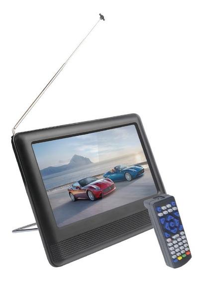 Tv Digital Portátil 7 Poleg Hd Full Seg Saídas Hdmi, Rca, P2