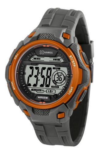 Relógio X-games Masculino Digital Xmppd571 Bxgx Laranja