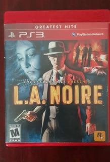 L.a. Noire Ps3 Usado Excelentes Condiciones Mejor Precio