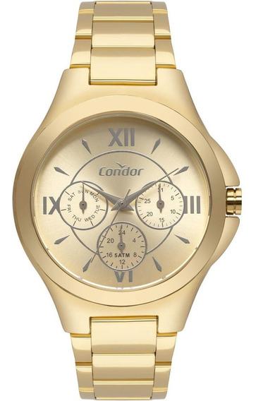 Relógio Feminino Condor Analógico Co6p29iu/k4d Dourado