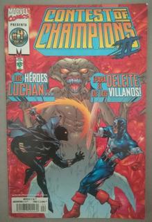 Contest Of Champions 2 Marvel Comics Tomo 4 De 5 Edit. Vid