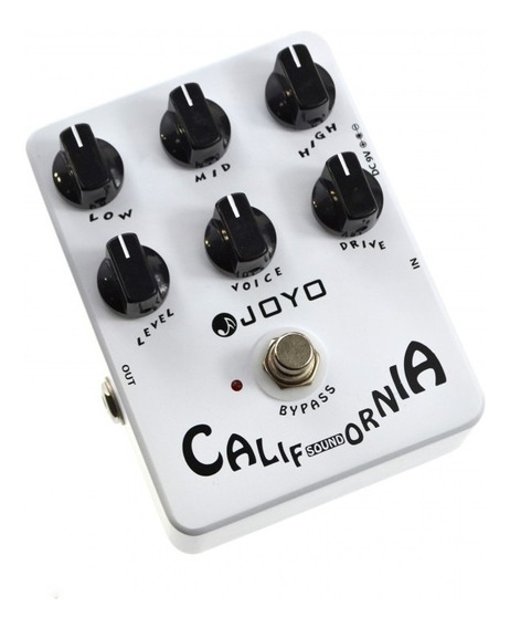 Pedal Guitarra Joyo California Sound Overdrive Jf 15