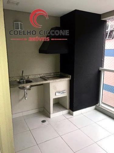 Imagem 1 de 14 de Apartamento Em Barcelona - Sao Caetano Do Sul - V-3799
