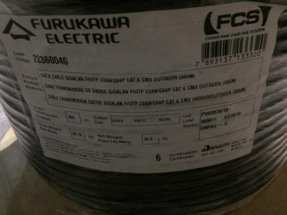 Cable Utp Cat 6 Furukawa 305 Metros Bobina
