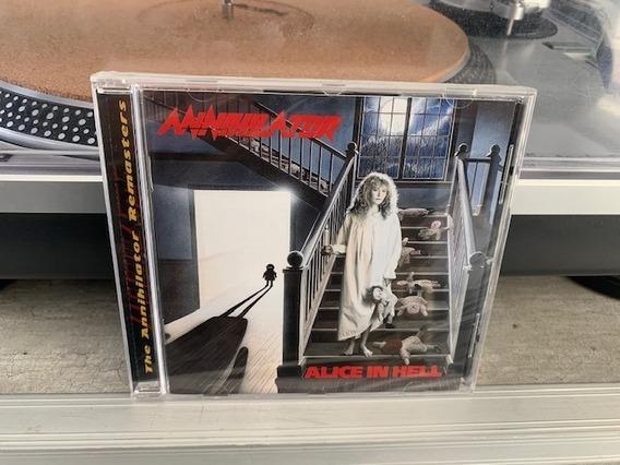 Annihilator - Alice In Hell - Cd Importado