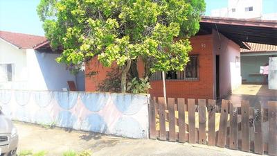 Casa Mobiliada Com Edícula A 100 Metros Da Praia Em Itanhaém