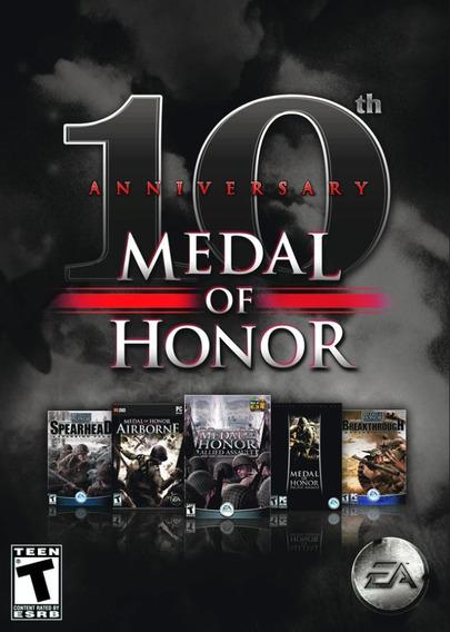 Medal Of Honor 10 Anniversary (pc Mídia Física)