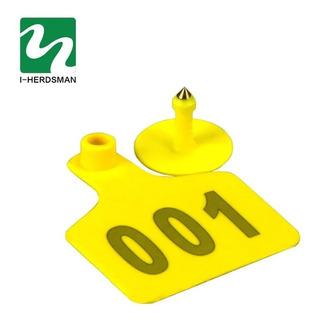 Arete Identificación Para Ganado 101-200 7.5×6cm