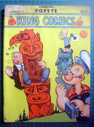 Imagen 1 de 3 de King Comics 35 Popeye Year 1939
