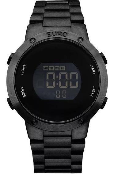 Relógio Euro Digital Preto Eubj3279ab/4p Sabrina Sato