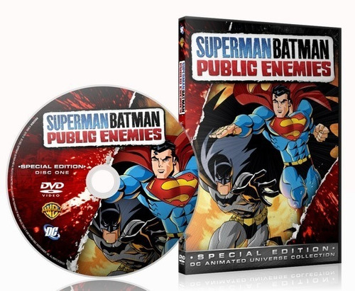 Imagen 1 de 1 de Superman / Batman : Public Enemies (2009) Dvd - Pelicula Dc