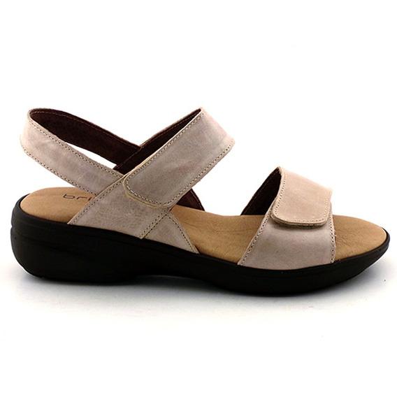 Sandalia Mujer Cuero Briganti Zapato Goma - Mcsd04152