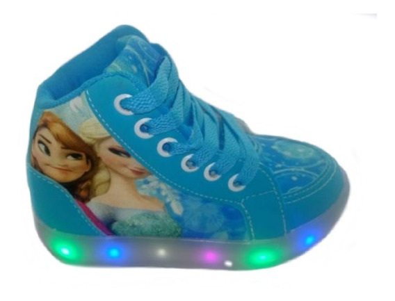 Bota Luz Led Frozen Infantil Promoção