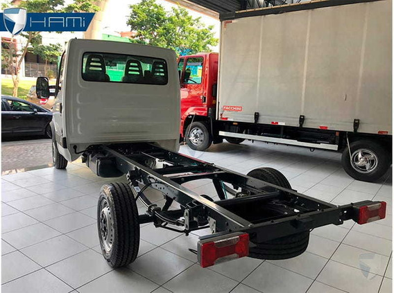 Iveco Daily Chassi Cabine 35s14 Branco Diesel 2019