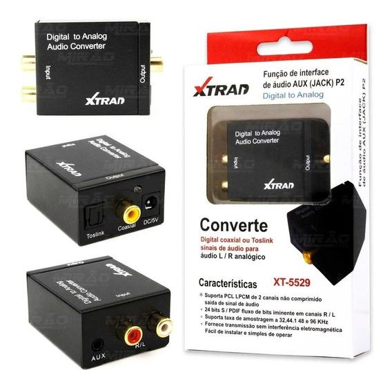 Conversor De Áudio Digital Para Analógico Xtrad 5528