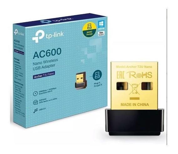Adaptador Usb Wireless Tp-link Archer T2u Nano Ac600